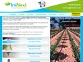 Irrinext systèmes d'irrigation agricole et micro-irrigation innovants Provence