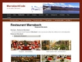 Marrakech Code guide sorties et restaurants Marrakech
