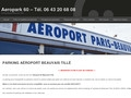 Horaire place parking discount aeroport Beauvais-Tillé