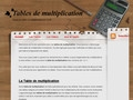 Table de multiplication ludique