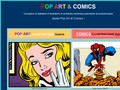 Pop Art et Comics Illustrateur