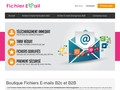 Fichiers-Emails.fr Adresses email entreprises