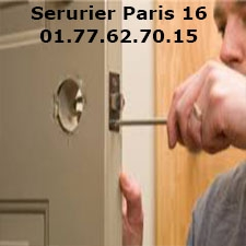 Serrurier paris 16