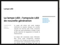 Lampe LED et Ampoule LED