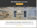 Rénovation DJ Bâtiments Services à Paris (75)