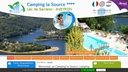 Camping La Source  camping Auvergne